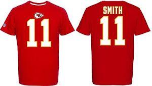NFL T-Shirt Kansas City Chiefs Alex Smith 11 Red Redburn Jersey Football