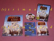 PC _ ANNO 1701 & soluzione ufficiale libro _ TOP-stato _ oltre 1000 giochi nel negozio