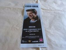 CHRIS ISAAK - Petite Publicité de magazine / Advert !!! CONCERT 2017 !!!