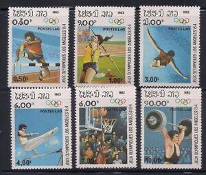 Laos   1983   Sc # 429-34   Olympics   MNH   (1-425)