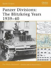 WW2 German Battle Orders: Panzer Divisions : The Blitzkrieg Years 1939-40 32