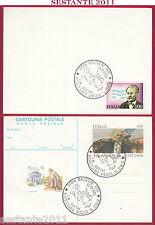 ITALIA MAXIMUM MAXI CARD POSTALE GOETHE VIAGGIO IN ITALIA 1986 MALCESINE VR B684