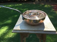 Mauviel 6412.17 M'Heritage Copper / Stainless Steel 0.9 Qt Sauce Pan NIB