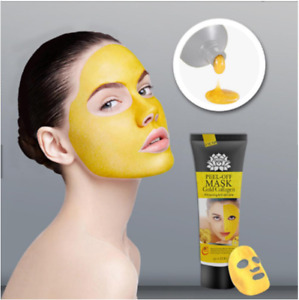 24K Gold Collagen Peel Off Facial Mask High Moisture Anti Aging Remove Blackhead