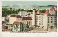 SPOKANE WA – Mt. Carlton from Spokane showing Auditorium Theatre –udb (pre 1908)