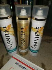 PANTENE PRO-V ALCOHOL FREE HAIRSPRAY 3 CANS FULL SIZES