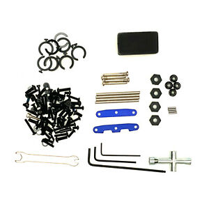 Traxxas Rustler 4X4 VXL Hinge Pins Wheel Hex Nuts Screws Tools Hardware Lot