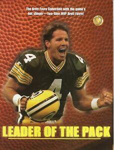 Brett Favre--Green Bay Packers--Bradford Exchange--1997 Brochure Advertisement
