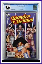 Wonder Woman #20 CGC Graded 9.6 DC July 2008 White Pages Comic Book.