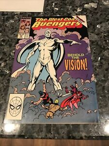 WEST COAST AVENGERS #45 FIRST COLORLESS VISION KEY ISSUE SEE MY OTHERS