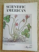 SCIENTIFIC AMERICAN May 1977 Underground Reservoirs Ramapithecus Sunspots Rats