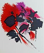 Alfred MANESSIER (1911-1993) Original Lithographie auf Arches Bütten Paris 1972