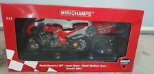 1 12 Minichamps Ducati Casey Stoner 2007 F1 Motorbike