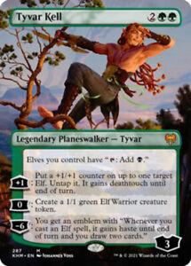 Tyvar Kell - Borderless x1 Magic the Gathering 1x Kaldheim mtg card