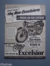 R&L Ex-Mag Advert: Excelsior Talisman Twin Sports, 125 Condor Bike