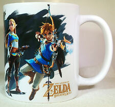 The Legend of Zelda Breath of the Wild - Coffee MUG CUP - RPG - ocarina of time