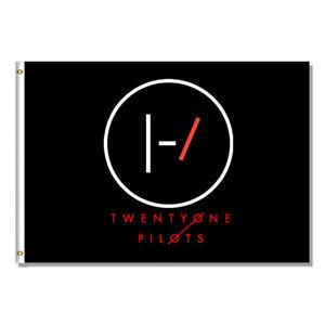 High Quality 3'x5' Twenty One Pilots Flag  Bnaner Polyester Decoration Hanging
