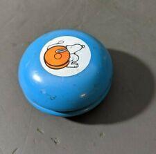 Vintage Snoopy YoYo, Yo Yo United Feature Syndicate Inc. UNUSUAL BLUE Color