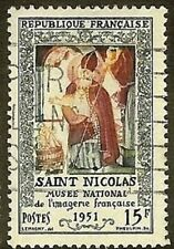 """FRANCE TIMBRE STAMP N° 904 """" MUSEE EPINAL , SAINT NICOLAS 15F """" OBLITERE TB"""