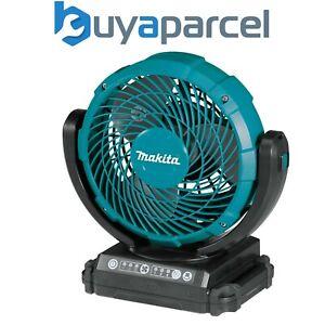 Makita DCF102Z 14v 18v 240v LXT Cordless Portable 3 Speed Fan Blue