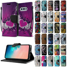 For Samsung Galaxy S10E 5.8 inch Flip PU Leather Card Slot Wallet Case Cover