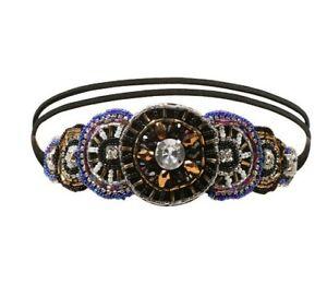1920s Vintage Style Bling Beads Headband