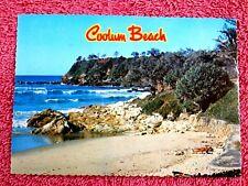 POINT PERRY  COOLUM  BEACH  SUNSHINE COAST QUEENSLAND  COLOUR  POSTCARD  [311]