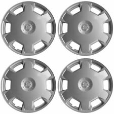 "4 PC Hubcaps fits 09-15 Nissan Cube 15"" Silver Replacement Wheel Rim Skin Cover"