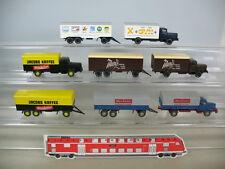 N268-0, 5# Wiking h0 camion (4 ST): 3x Büssing: Jacobs..., 1x KRUPP TITAN