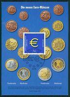 BUND MK 2002 EURO-EINFÜHRUNG PRIVATE !! MAXIMUMKARTE CARTE MAXIMUM CARD MC bt15