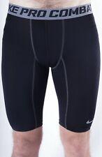 Nike Men`s Black Pro Combat Compression Sport Dri-Fit Shorts Size L