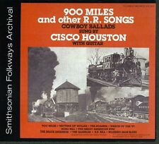 Cisco Houston - 900 Miles and Other R.R. Songs [New CD]