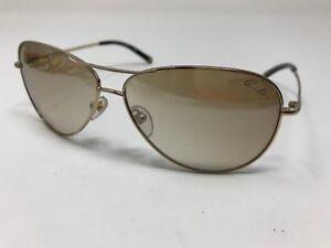 Authentic Anne Klein Sunglasses Womens AK 4127 353/57 60-11-135 Gold CK96