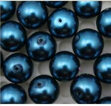 200 pcs beautiful Glass pearls Czech republic interval beads Dark blue 4 mm