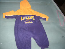 LOS ANGELES LAKERS WINDBREAKER JUMPER OUTFIT 3 TO 6 MONTHS