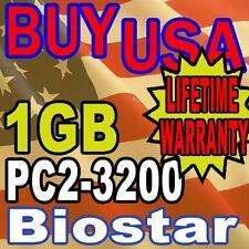 1GB Biostar CX70M-I7 N4SIE-A7 P4M800Pro-D1 Memory Ram