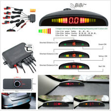Universal DC 12V Car Reverse Backup Radar Detector System LED Display & 4 Sensor