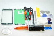 SAMSUNG S6 bordo Nero Schermo Vetro Set di riparazione, colla, cacciaviti, strumenti di qualità