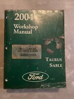 2004 Ford TAURUS SABLE Service Manual Dealership Workshop Repair Book