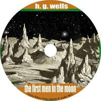 First Men in the Moon, H G Wells Sci-Fiction Adventure Audiobook on 8 Audio CDs