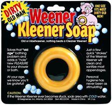 Dirty Old Man Weener Kleener Soap Weiner Willy Cleaner - gag prank joke