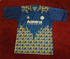 "Leeds United Blue Admiral Away Shirt. Retro! Rare! Size 42"" - 44"". Never Worn!"