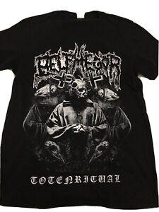BELPHEGOR - Totenritual T-Shirt in Größe M (Neuwertig) - Marke Gildan