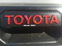 Toyota Tundra Tailgate Handle Decal 2014 2015 2016 2017 2018 2019