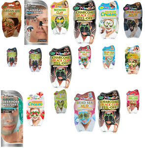 MONTAGNE 7TH HEAVEN SKIN FACE MASKS BEAUTY PEEL OFF MASKS SPA DAY FREE DELIVERY