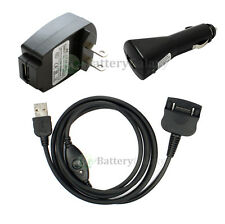 SYNC/CAR/WALL Charger for Palm Zire 71 Tungsten T W C