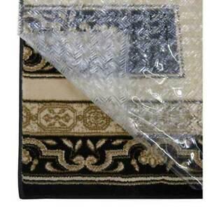 New Floor Carpet Protection Herringbone Secure Runner Protector Clear 70cm x 7m