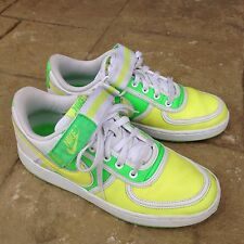 Mens Nike Vandal Low Shoes Vintage 312456-371 Yellow and Green Size US 8