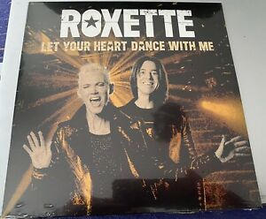 """Roxette Let Your Heart Dance With Me White 7"""" Single Sealed"""