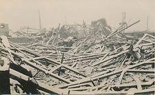 Guerre WW1 14-18 - Carte Photo Tergnier Ruines  Aisne  - GV99